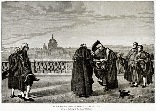 On the Pincian, with St. Peter