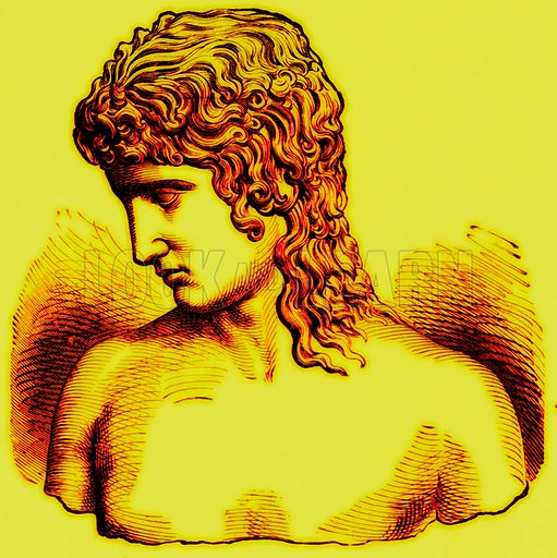 Extreme of Ethnic Divergence--highest type.--(1) Eros of Praxiteles. Illustration from With the World