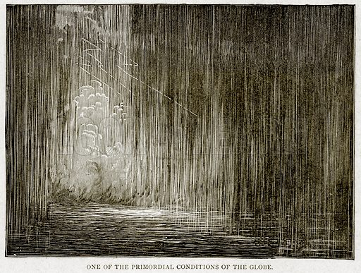 One of the Primordial Conditions of the Globe. Illustration from With the World