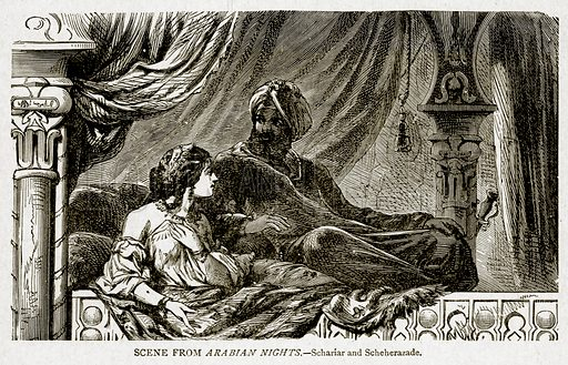 Harem, picture, image, illustration