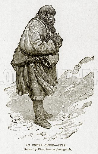 An Under Chief--Type. Illustration from With the World's People by John Clark Ridpath (Clark E Ridpath, 1912).