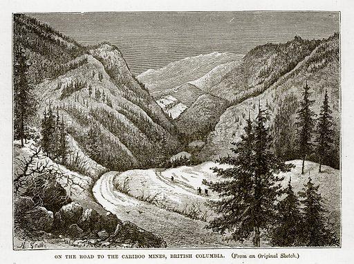 Cariboo Mines, picture, image, illustration