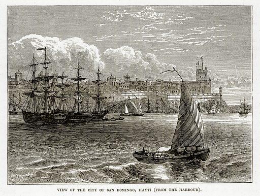 Saint Domingo, picture, image, illustration