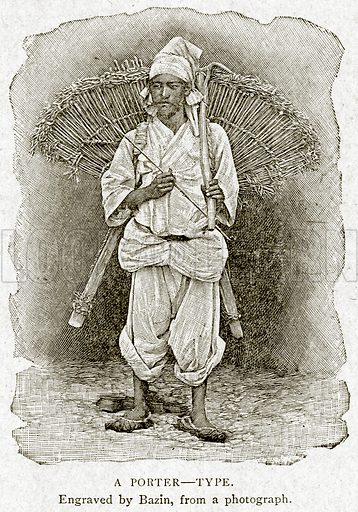 A Porter--Type. Illustration from With the World