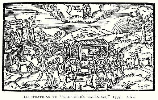 "Illustrations to ""Shepherd"