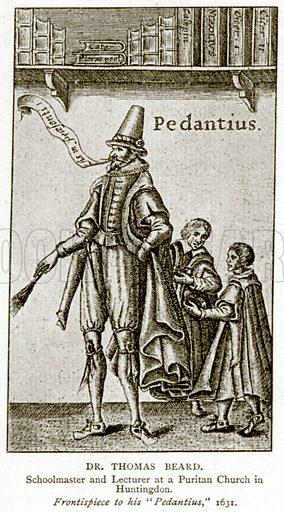 Dr Thomas Beard. Illustration from A Short History of the English People by JR Green (Macmillan, 1892).