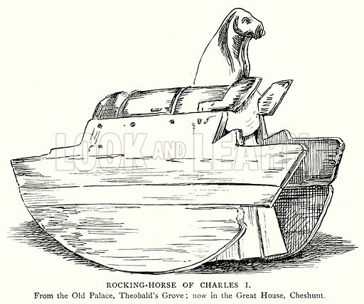 Rocking-Horse of Charles I. Illustration from A Short History of the English People by JR Green (Macmillan, 1892).