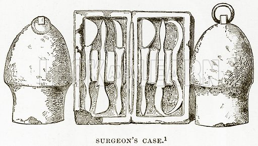 Surgeon's Case. Illustration from History of Greece by Victor Duruy (Boston, 1890).