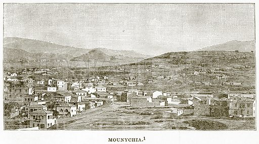 Mounychia. Illustration from History of Greece by Victor Duruy (Boston, 1890).