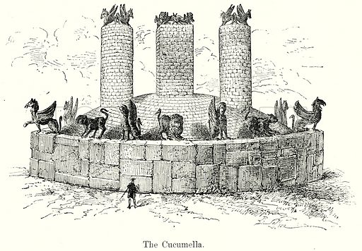 The Cucumella. Illustration from History of Rome by Victor Duruy (Kegan Paul, Trench & Co, 1884).