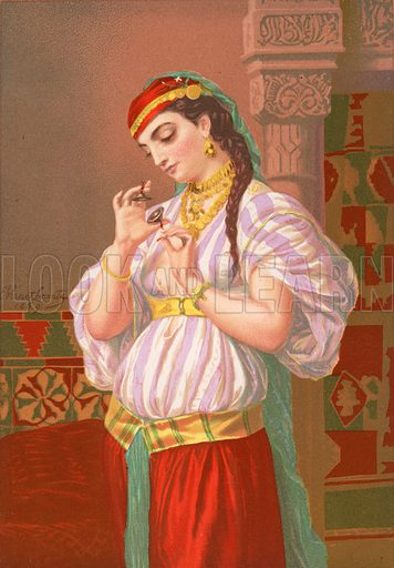 Salome, picture, image, illustration