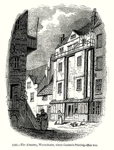 The Almonry, Westminster, where Caxton