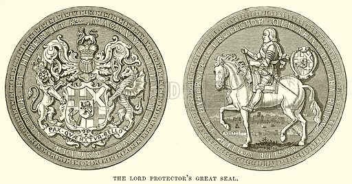 The Lord Protector's Great Seal