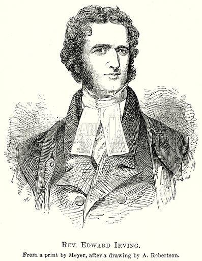 Edward Irving, picture, image, illustration