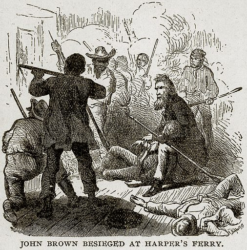 John Brown Besieged at Harper