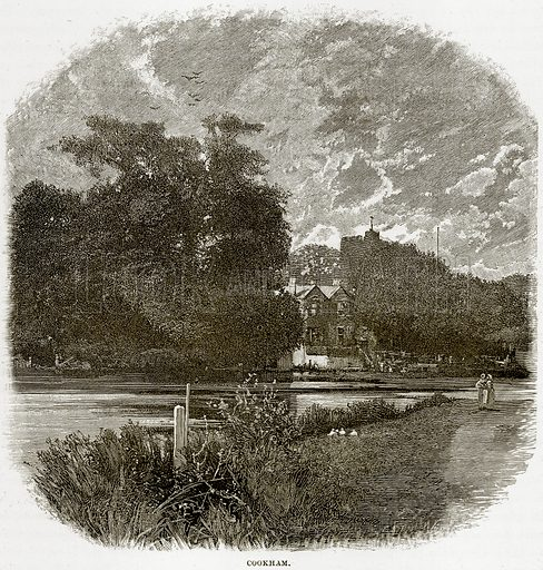 Cookham. Illustration from Our Own Country (Cassell, c 1890).