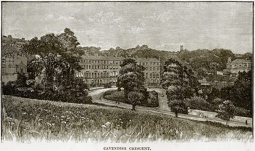 Cavendish Crescent. Illustration from Our Own Country (Cassell, c 1890).