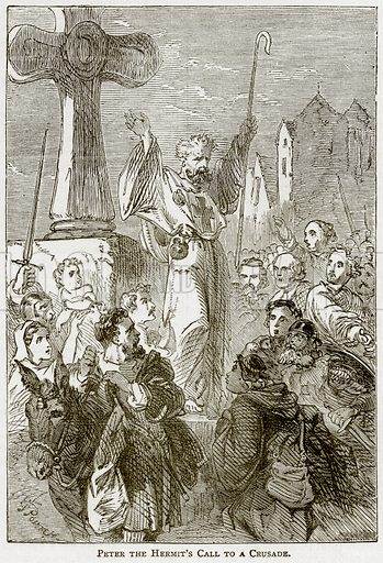 Peter the Hermit's Call to a Crusade