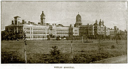 Netley Hospital. Illustration from The Life and Times of Queen Victoria by Robert Wilson (Cassell, 1893).