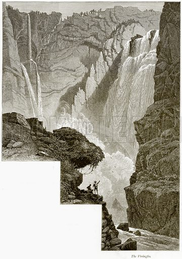 The Voringfos. Illustration from Picturesque Europe (Cassell, c 1880).