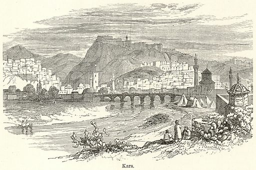 Kars. Illustration for The World As It Is by George Chisholm (Blackie, 1885).