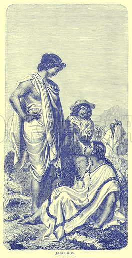 Jarochos. Illustration from Illustrated Travels edited by H W Bates (Cassell, c 1880).
