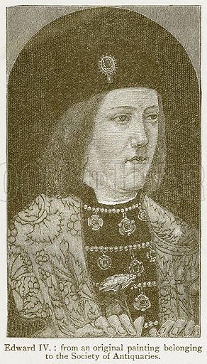Edward IV. Illustration from A Student's History of England by Samuel R Gardiner (Longmans, 1902).