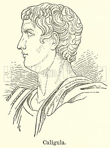 Caligula. Illustration for Blackie