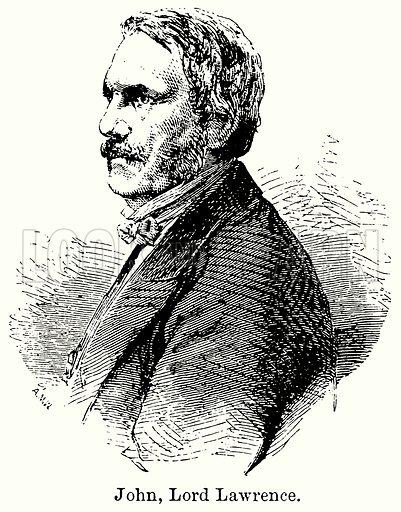 John, Lord Lawrence. Illustration for Blackie's Modern Cyclopedia (1899).
