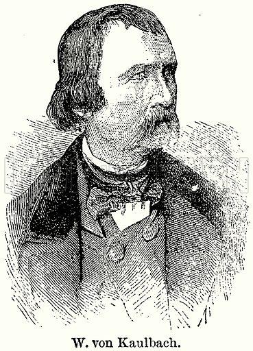 W von Kaulbach. Illustration for Blackie's Modern Cyclopedia (1899).