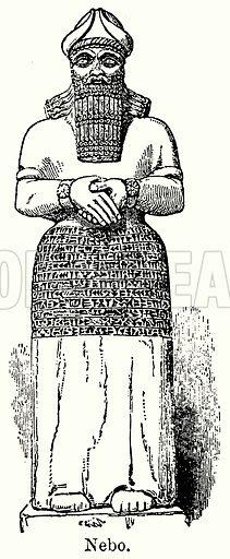 Nebo. Illustration for Blackie's Modern Cyclopedia (1899).