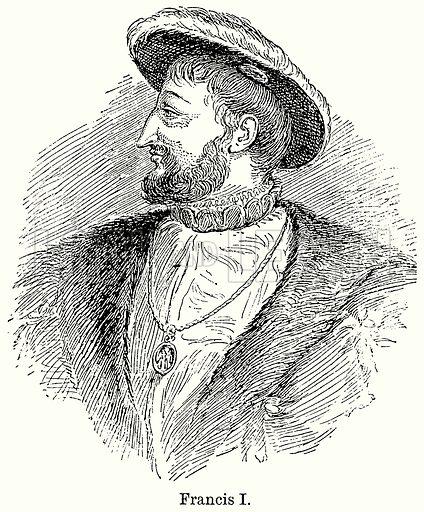 Francis I. Illustration for Blackie's Modern Cyclopedia (1899).