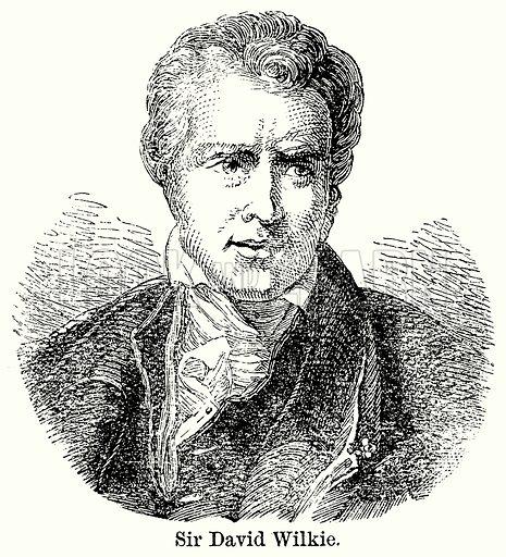 Sir David Wilkie. Illustration for Blackie's Modern Cyclopedia (1899).