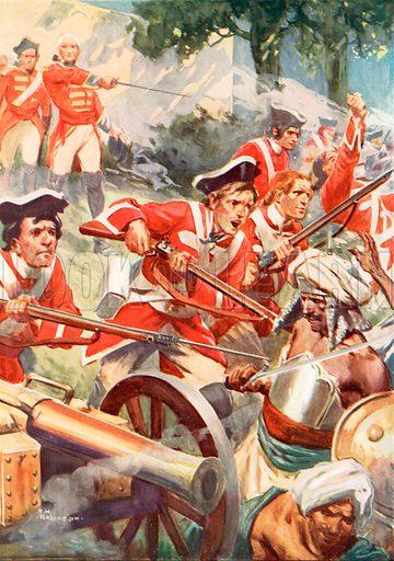 picture, Thomas Heath Robinson, artist, illustrator, painter, Clive of India
