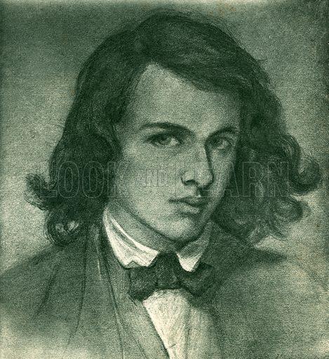 Rossetti, picture, image, illustration