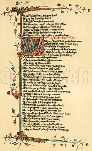 Chaucer. Canterbury Tales.