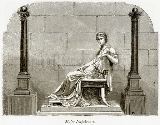Mater Napoleonis. Illustration from The Stately Homes of England by Llewellynn Jewitt and SC Hall (Virtue, 1877).