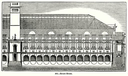 Rotort House. Illustration for Knight's Pictorial Gallery of Arts (London Printing and Publishing, c 1860).