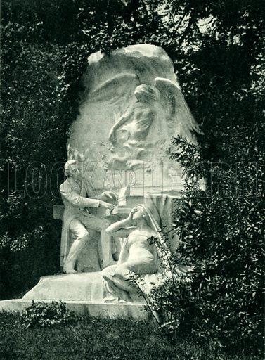 Memorial to Chopin in Paris