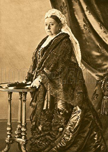 Queen Victoria, picture, image, illustration