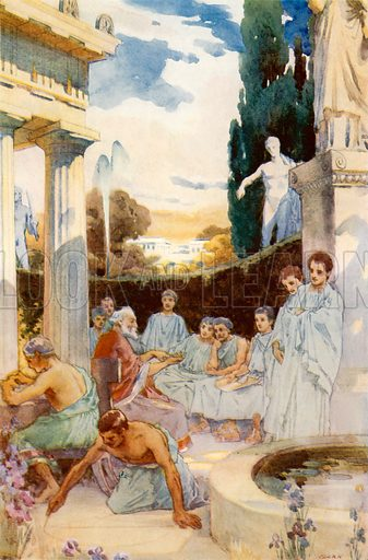 The academy at Athens