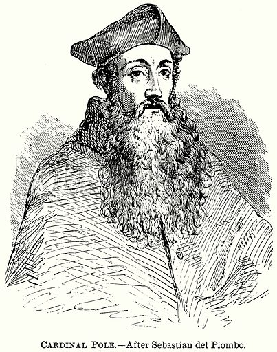 Cardinal Pole. Illustration from The Comprehensive History of England (Gresham Publishing, 1902).