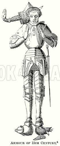 Armour of 15th Century. Illustration from The Comprehensive History of England (Gresham Publishing, 1902).