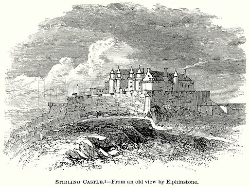 Stirling Castle. Illustration from The Comprehensive History of England (Gresham Publishing, 1902).