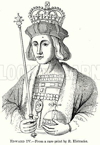 Edward IV. Illustration from The Comprehensive History of England (Gresham Publishing, 1902).