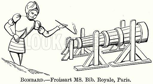 Bombard. Illustration from The Comprehensive History of England (Gresham Publishing, 1902).