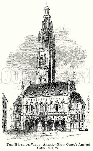 The Hotel-De-Ville, Arras. Illustration from The Comprehensive History of England (Gresham Publishing, 1902).