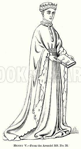 Henry V. Illustration from The Comprehensive History of England (Gresham Publishing, 1902).
