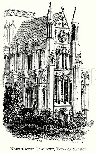 North-West Transept, Beverley Minster. Illustration from The Comprehensive History of England (Gresham Publishing, 1902).