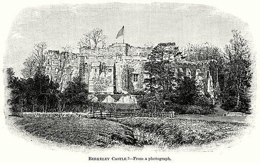 Berkeley Castle. Illustration from The Comprehensive History of England (Gresham Publishing, 1902).